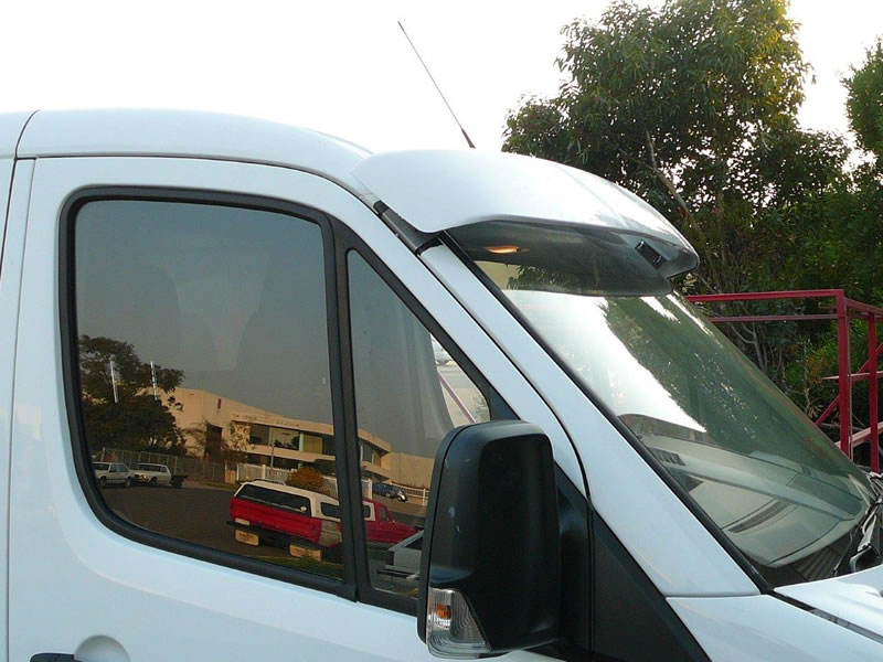 Aeroz products van sunvisors for Mercedes benz sprinter sun visor