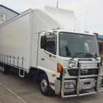 04012 Hino Full Aerokit - newer model has new Fuelscoop
