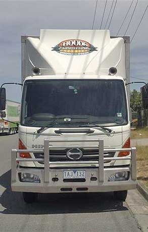 04012 Hino Full Aerokit - newer model has new Fuelscoop