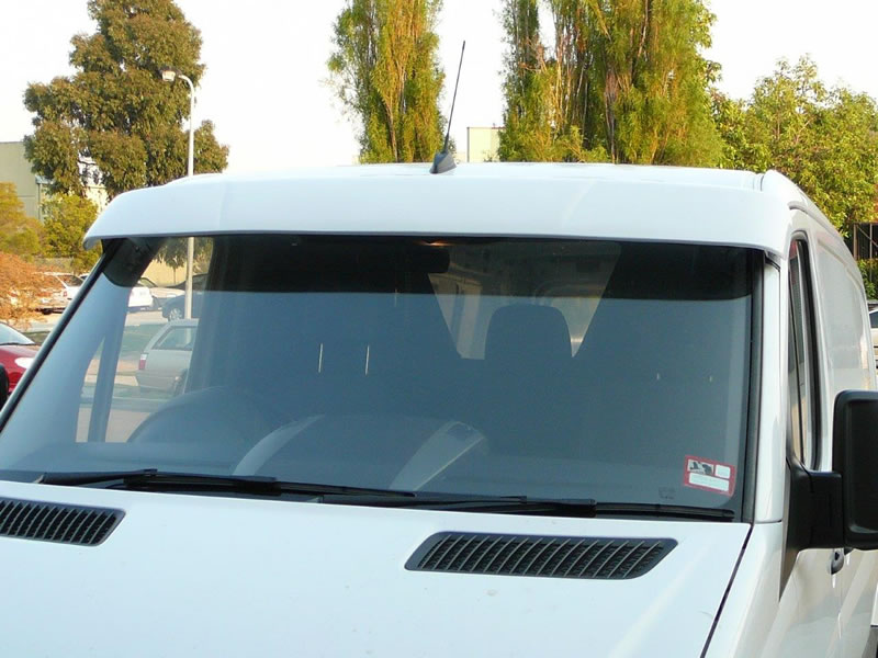 Van sunvisors aeroz products for Mercedes benz sprinter sun visor